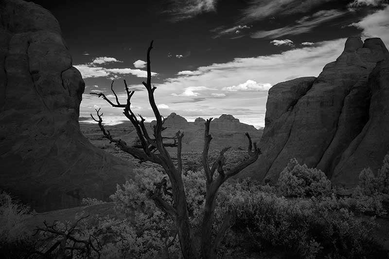 Arches National Park Infrarot