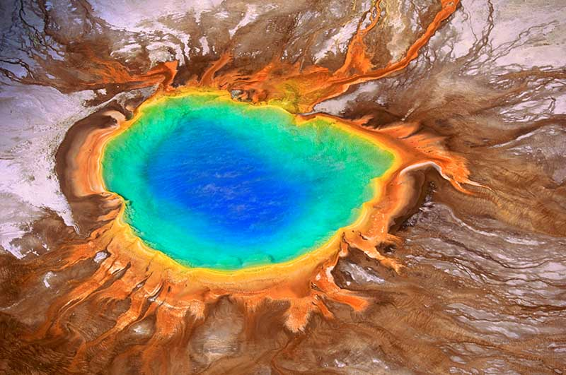 Art Wolfe – Grand Prismatic Spring