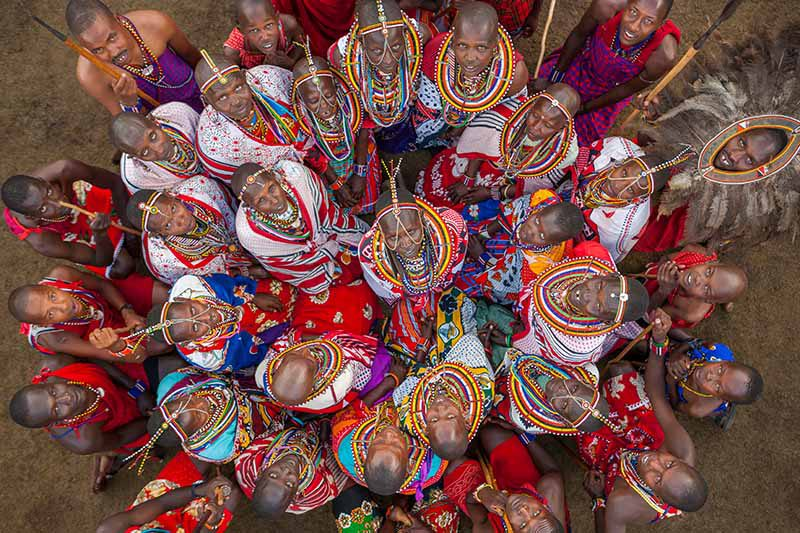 Massai © Art Wolfe/ Art Wolfe Stock